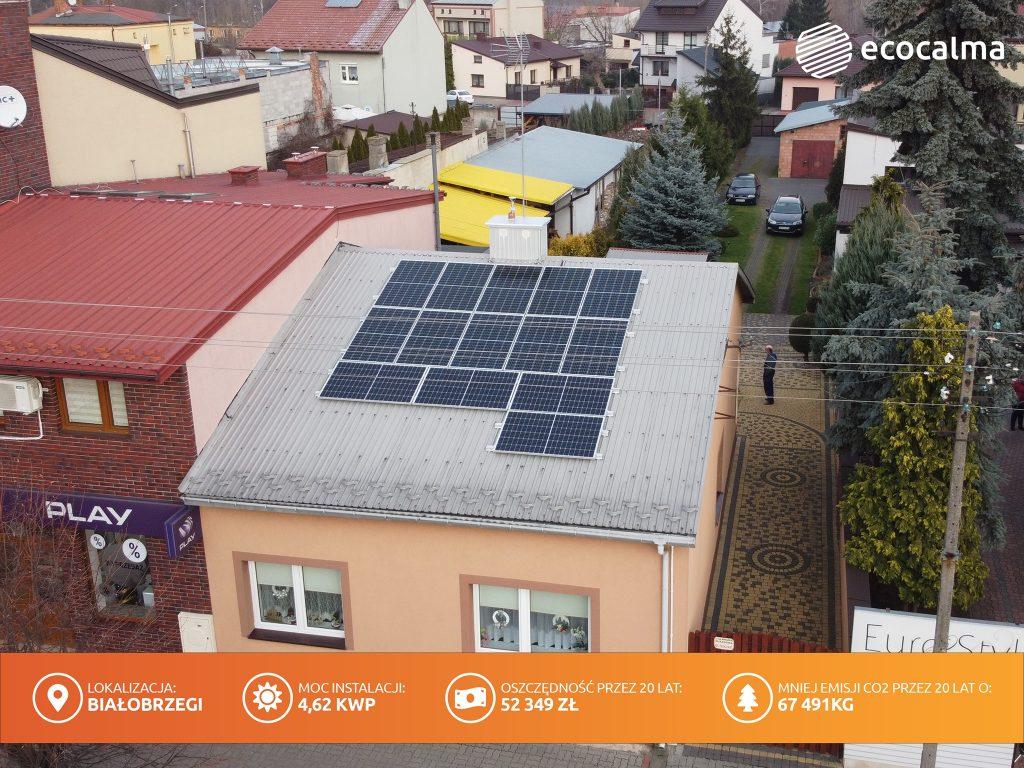 Fotowoltaika - instalacja fotowoltaiczna Białobrzegi do 10 kW