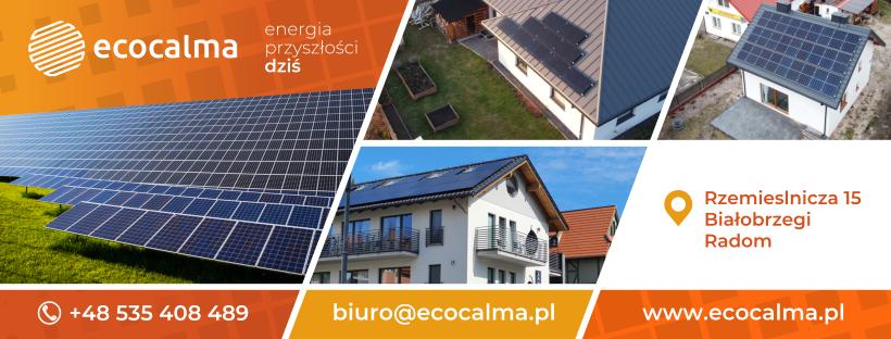 Instalacje fotowoltaiczne panele słoneczne Calma Energy